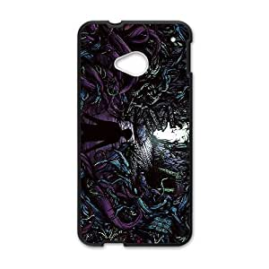 A Day To Remember_006 TPU Case Cover for HTC One M7 Cell Phone Case Black
