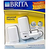 brita faucet water filter system - Brita Faucet Filtration System White 1 System 2 Filters