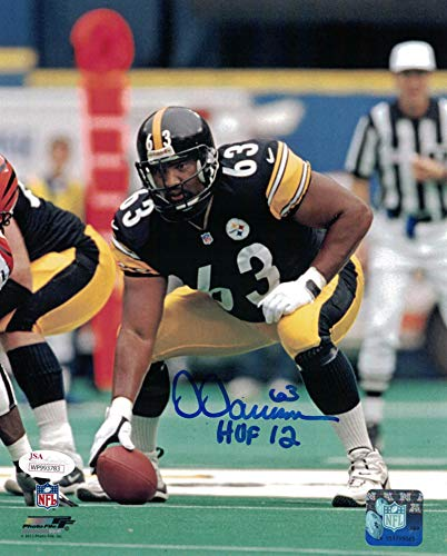 58db65351d8 Dermontti Dawson Autographed Signed Pittsburgh Steelers 8x10 Photo Hof - JSA  Authentic