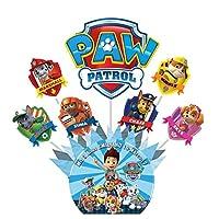 Centro de Mesa Personalizado Tematica Paw Patrol