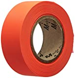 Mutual Industries 16001-145-1875 Flagging Tape Ultra Glo, Orange (Pack of 12)