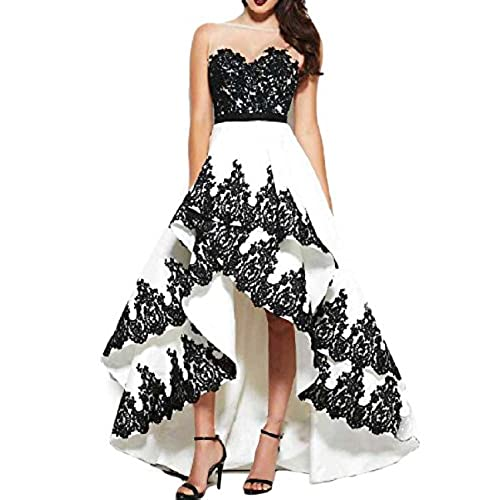 Black and White 2 in 1 Gown