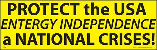 Protect Usa Entergy Crises Bumper Sticker