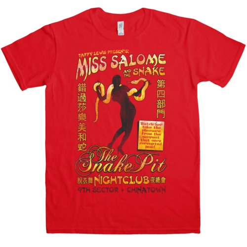 Men's Blade Runner T Shirt - Salome And The Snake, S to XXL