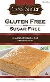 Sans Sucre Gluten Free & Sugar Free Brownie Mix Classic Blondie 454 g, Low Carb