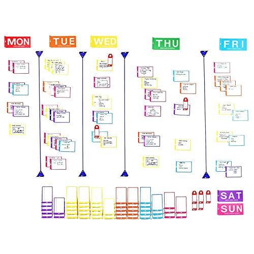 PATboard Agile Weekly Planner Board Full Toolset ()