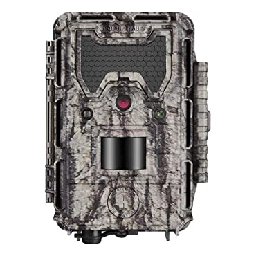 Bushnell Trophy Cam HD Aggressor 24mp No Glow Trail Camera with Color Viewer, Camouflage (119877)