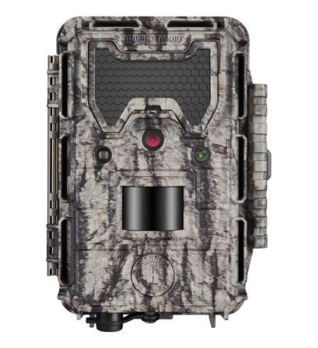 Bushnell 24MP Trophy Cam HD No Glow Trail Camera with Color Viewer, Camo Camouflage by Bushnell