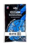 GripIt Drywall Anchor Fixing Kit Holds Up To 250 Pounds or 113 Kilograms Of Weight. Perfect For Hanging Heavy Such as TVs, Boilers, Cabinets on Plasterboard Walls.. Removable and Reusable Screws (25 Pack)