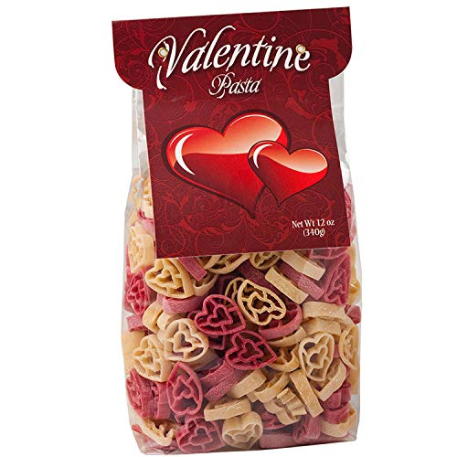 Chidester Farms Valentines Day Heart Shaped Novelty Love Pasta, 12 Ounce (Heart Shaped Food)