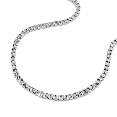 Cadena, venecianos cadena, acero inoxidable: Amazon.es: Joyería