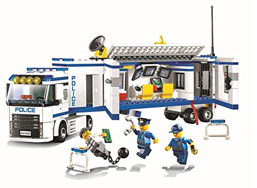 2016 New City Police City Mobile Police Unit Set building blocks Action Figures Model Boys Girls Toys Compatible Legoe