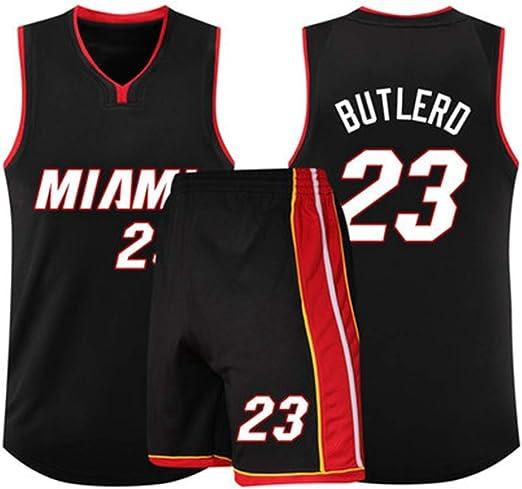 Trajes De Uniforme De Baloncesto Jimmy Butler De Miami Heat # 2 ...