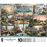 10-in-1 Thomas Kinkade Puzzle Set
