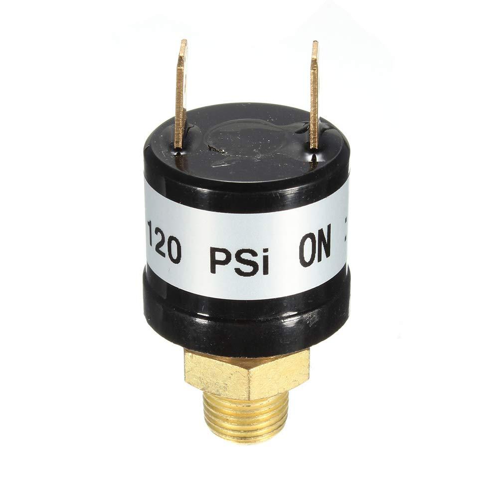 Coomir Interrupteur de Pression dair 90PSI-120PSI 170-200PSI 12V pour des compresseurs de Train de Corne dair 120-150PSI