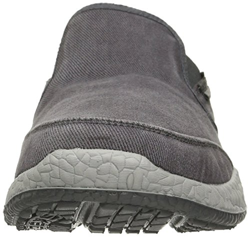 Skechers USA Mens Bursen Ellken Slip-On Loafer Gray
