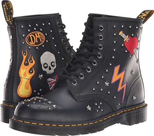 (Dr. Martens - Unisex-Adult 1460 8 Eye Boot, Size: 10 D(M) US / 9 F(M) UK / 11 B(M) US, Color: Black Smooth)