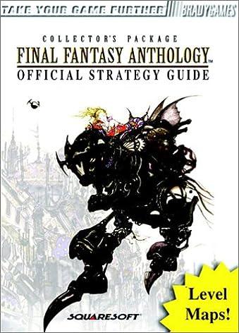 final fantasy anthology official strategy guide brady games david rh amazon com Halo 2 Strategy Guide Halo 2 Strategy Guide