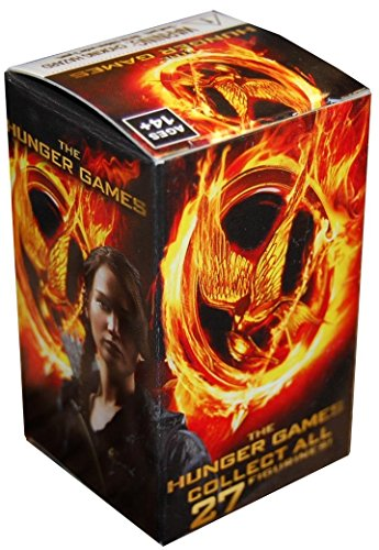 The Hunger Games WizK!ds Collectible Figures Gravity Feed Booster Blind Box (Random Figure Collect All 27!) 2 Inch Figur