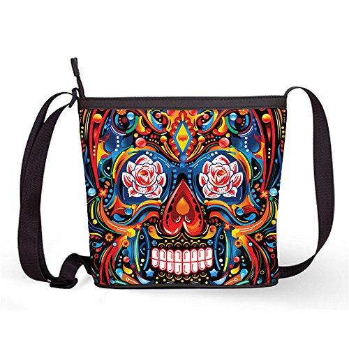 Bag Print Fashion Female Crossbody Popular Bag Sugar Sugar Sling Bag Shoulder with Skull Bag34 Casual Sling and zqrwUg1z