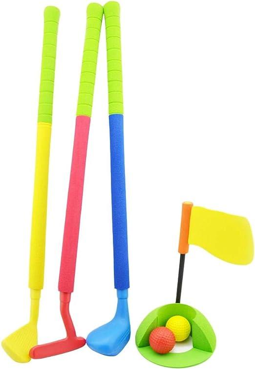 BEENZY Juego de golf de juguete para niños, fácil de golpear ...