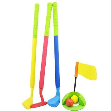 BEENZY Juego de Golf de Juguete para niños, Juego de Palos ...