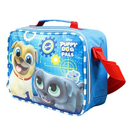 Disney 9.5'' PUPPY DOG PALS Bingo & Rolly School Lunch Bag by KBNL