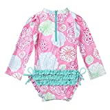 TiaoBug Infant Baby Girls Long Sleeves Floral