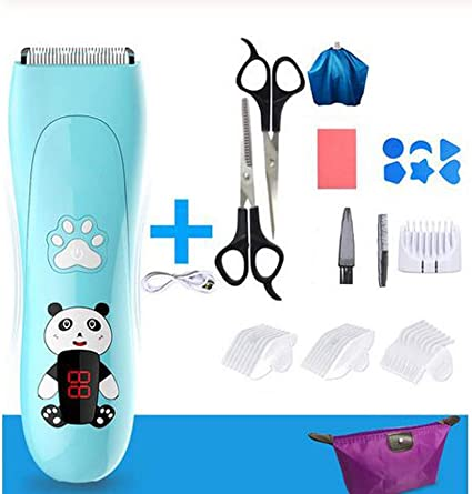 Amazon Com Shan S Kids Electric Hair Clippers Silent Children Hair Clipper Quiet Electric Rechargeable Hair Trimmer Cordless Ceramic Haircut Machine For Kids Baby Toddler For Adults And Kids Sports Outdoors