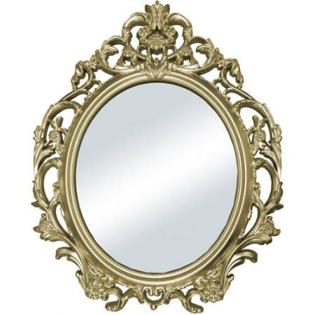Better Homes and Gardens Baroque Wall Mirror Gold
