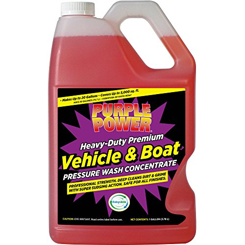 (Purple Power Heavy-Duty Vehicle and Boat Pressure Wash Concentrate)