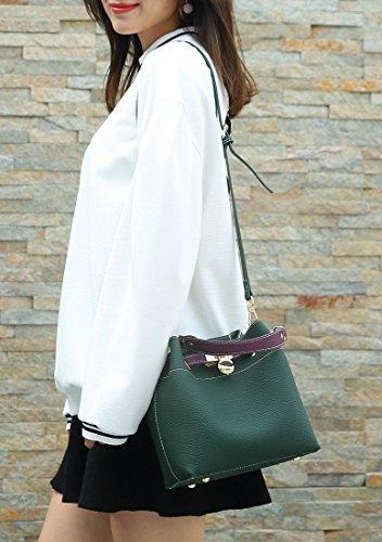 Green Minotta Sac femme main à MinottaUKD6050 X7Zxq7gr