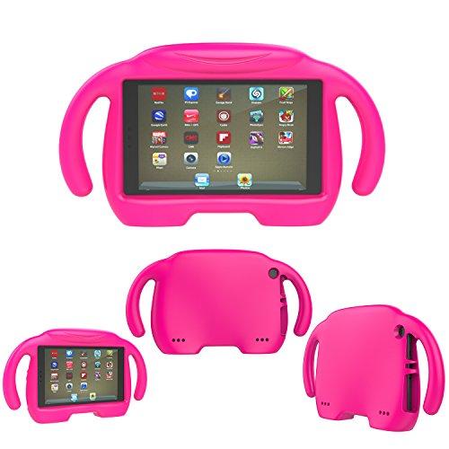 All-New Fire HD 8 Case,Fire HD 8 Kids Case,SNOW Kids Shock P