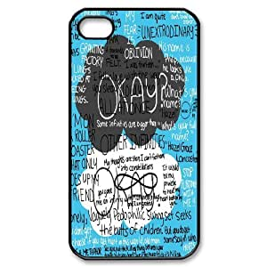 Okay? okay.the Fault in Our Stars Hard Plastic phone Case Cover For Iphone 4 4S case cover FAN207874