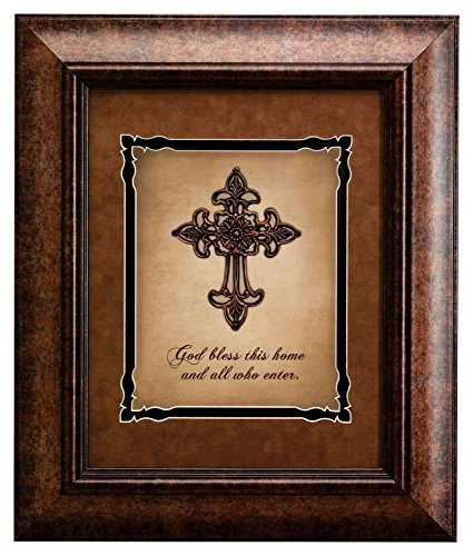 Faithworks God Bless This Home Framed Wall Art, 16 x 19