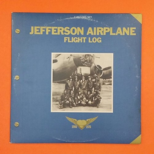 JEFFERSON AIRPLANE Flight Log 66-76 LP Vinyl VG++ GF Sleeves & Booklet CYL2 1255 ()