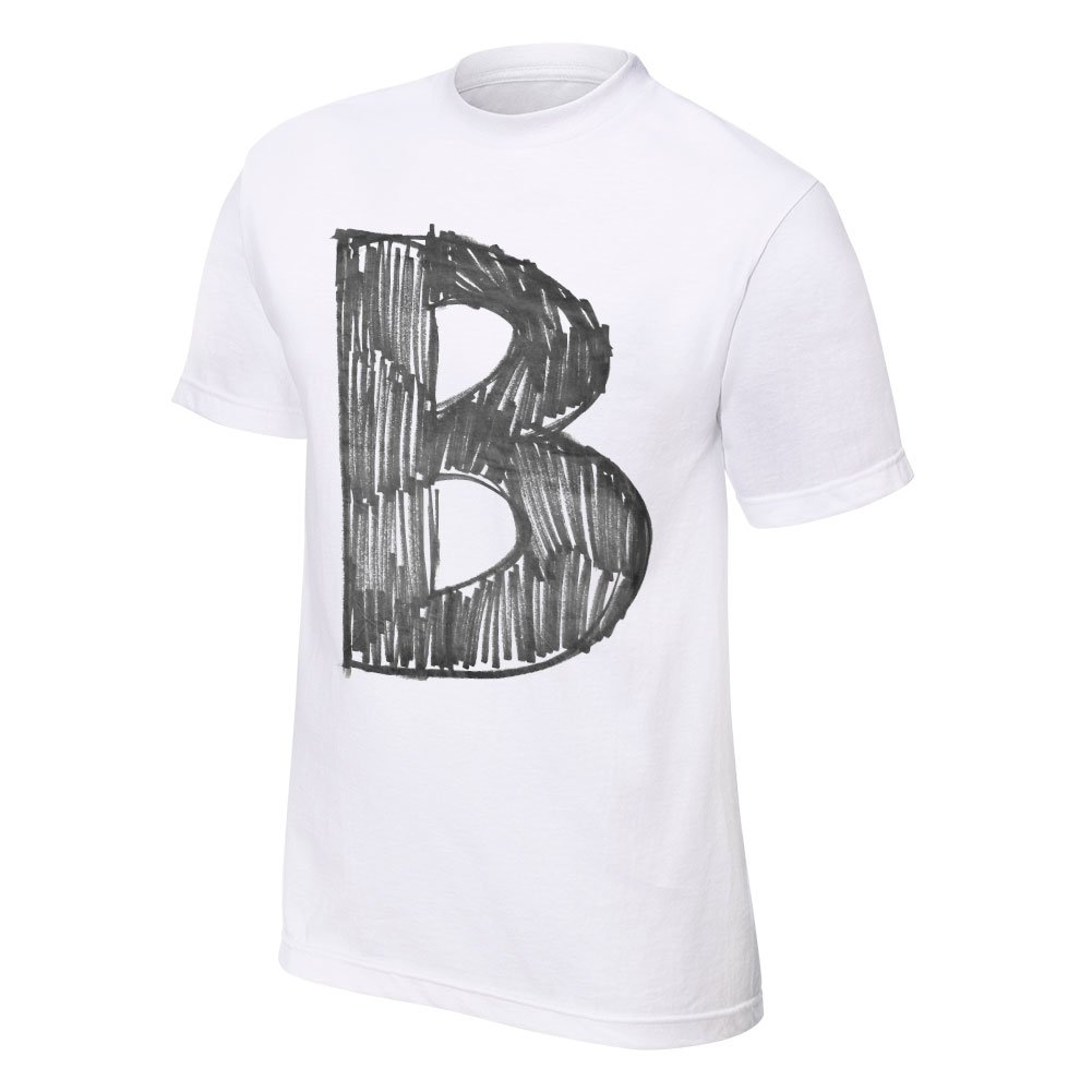 WWE The B-Team The B Stands 4 Best Youth T-Shirt White Medium