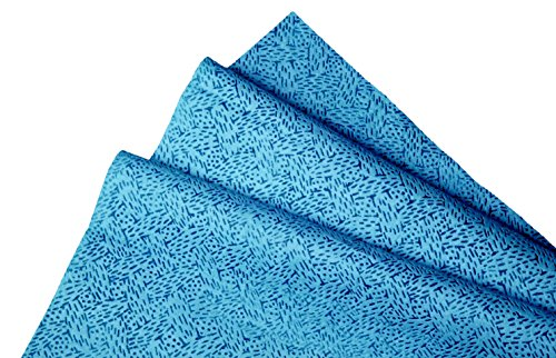 Kimtech Multipurpose Reusable Cleaning Cloth, low lint and High Absorbent Wiper, 50 Sheet, Blue Color (23.7 cm x 25.4 cm) Price & Reviews