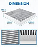 PHILTOP Cabin Air Filter, Replacement for