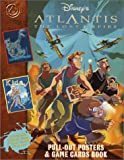 Atlantis : The Lost Empire Pull-Out Posters and Game Cards