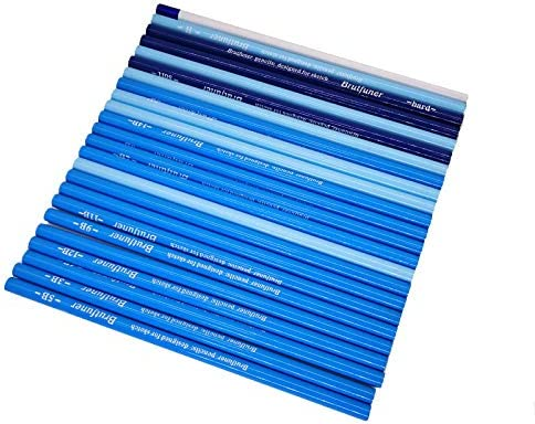24Pcs Professional Hard Medium Soft Sketch Charcoal Pencils Drawing Pencils Set For School Standard Pencil Art Supplies
