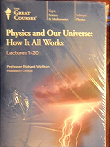 Book The Great Courses Physics and Our Universe, How It All Works (Series, 3 Transcript Books Lectures 1-60)
