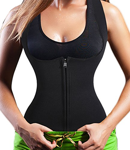 Neoprene Sauna Zipper Waist Trimmer product image