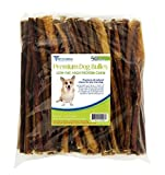 Pets Choice Pharmaceuticals 031CW12-PZ50 12 In. - Bully Sticks For Dogs44; Premium All Natural Dog Pizzle Chews