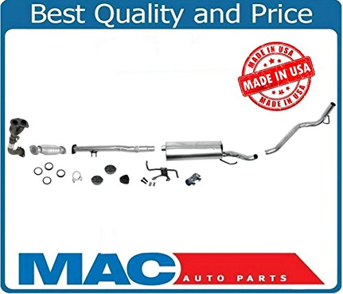 2.7 Exhaust System Parts (Mac Auto Parts 25844 Toyota Tacoma 2.7 2WD or 4WD Exhaust System)