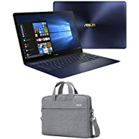 ASUS ZenBook 3 Deluxe, UX490UA-XH74-BL (i7-8550U, 16GB RAM, 500GB Samsung NVMe SSD, 14 Full HD, Windows 10 Pro) Ultrabook - Royal Blue
