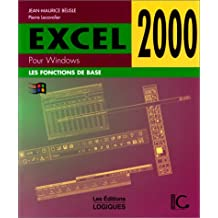 Excel 2000 pour windows de base