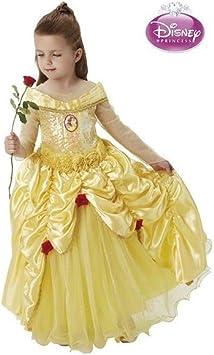 Disfraz de Bella premium de Disney para niña: Amazon.es ...