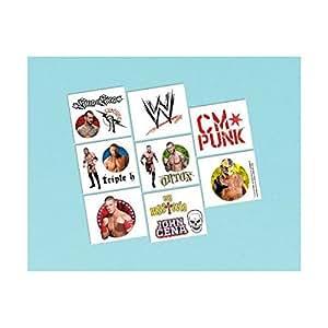 WWE Wrestling Tattoos 16ct [Toy] [Toy]