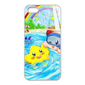 Kirby iPhone 4 4s Cell Phone Case White xlb-311135